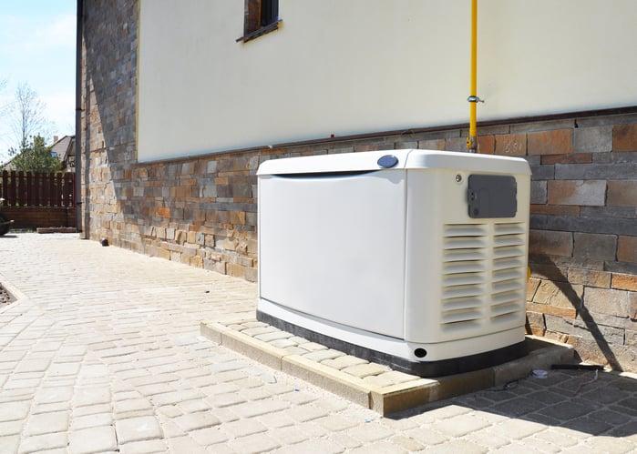 Generador residencial