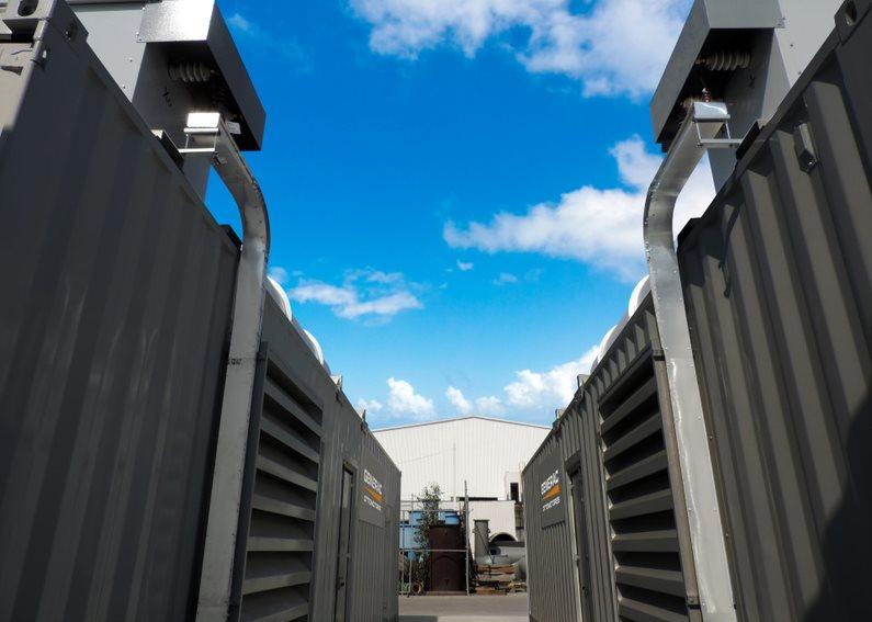 generador eléctrico industrial