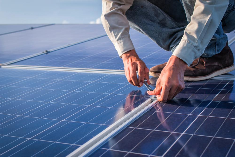 producción de paneles solares